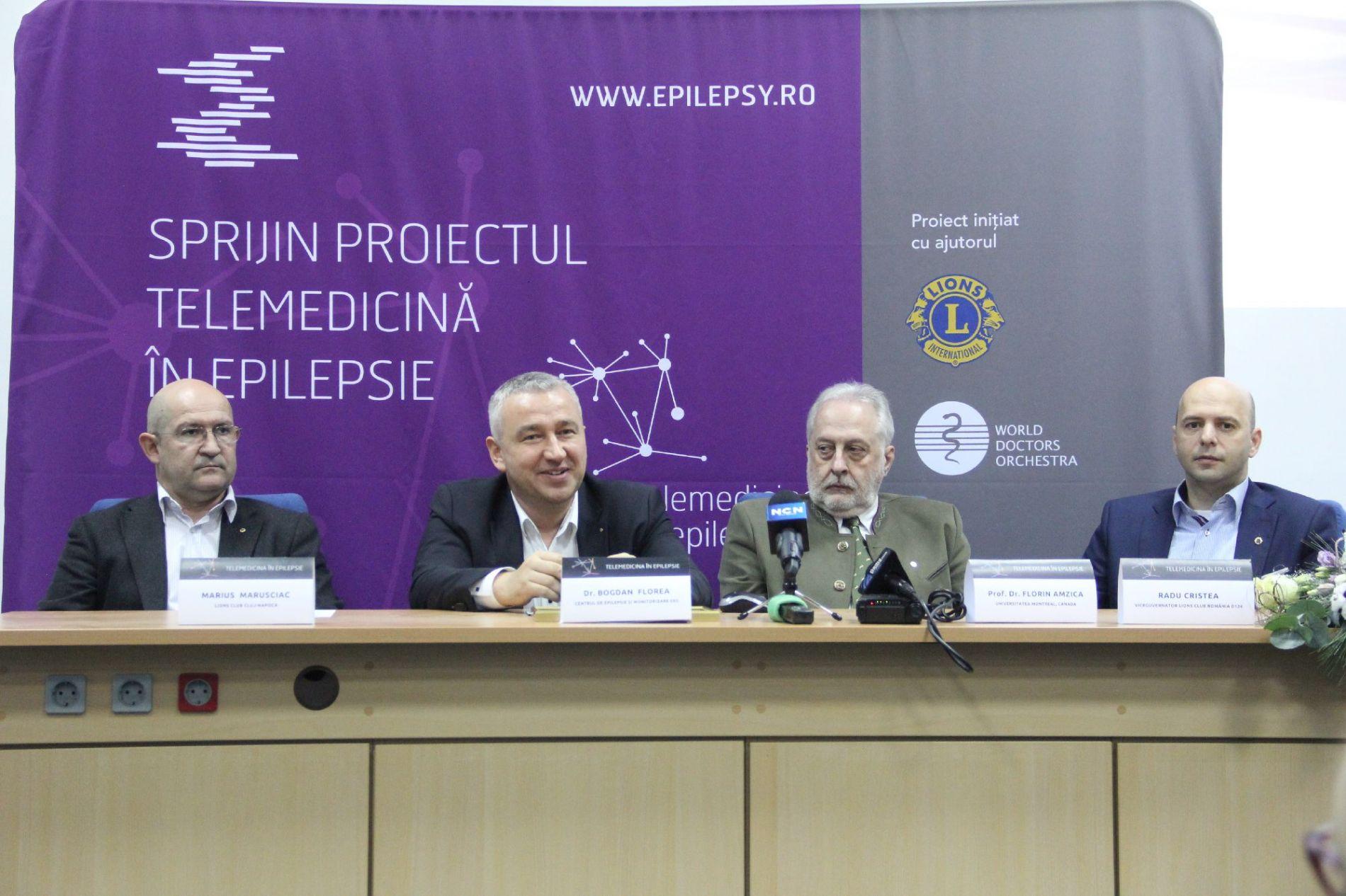 Lansarea Sistemului de Telemedicină în Epilepsie în România