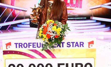 Katia, fetița minune din Cluj, a câștigat marele trofeu Next Star cu o melodie compusă de ea