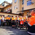 Medicii și asistenții de la Ambulanță au protestat în toată țara