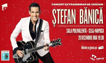 Mai sunt doar 500 de bilete la concertul de Crăciun susținut de Ștefan Bănică
