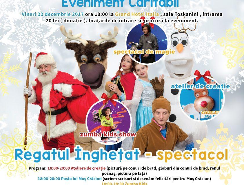 Și copiii au Crăciunul lor. Unde se pot bucura cei mici de spectacole și cadouri de la Moș Crăciun