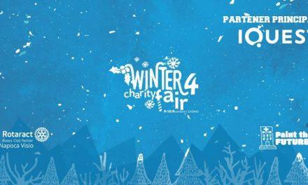 Iarna se numără faptele bune la cel mai cool târg caritabil: începe Winter Charity Fair