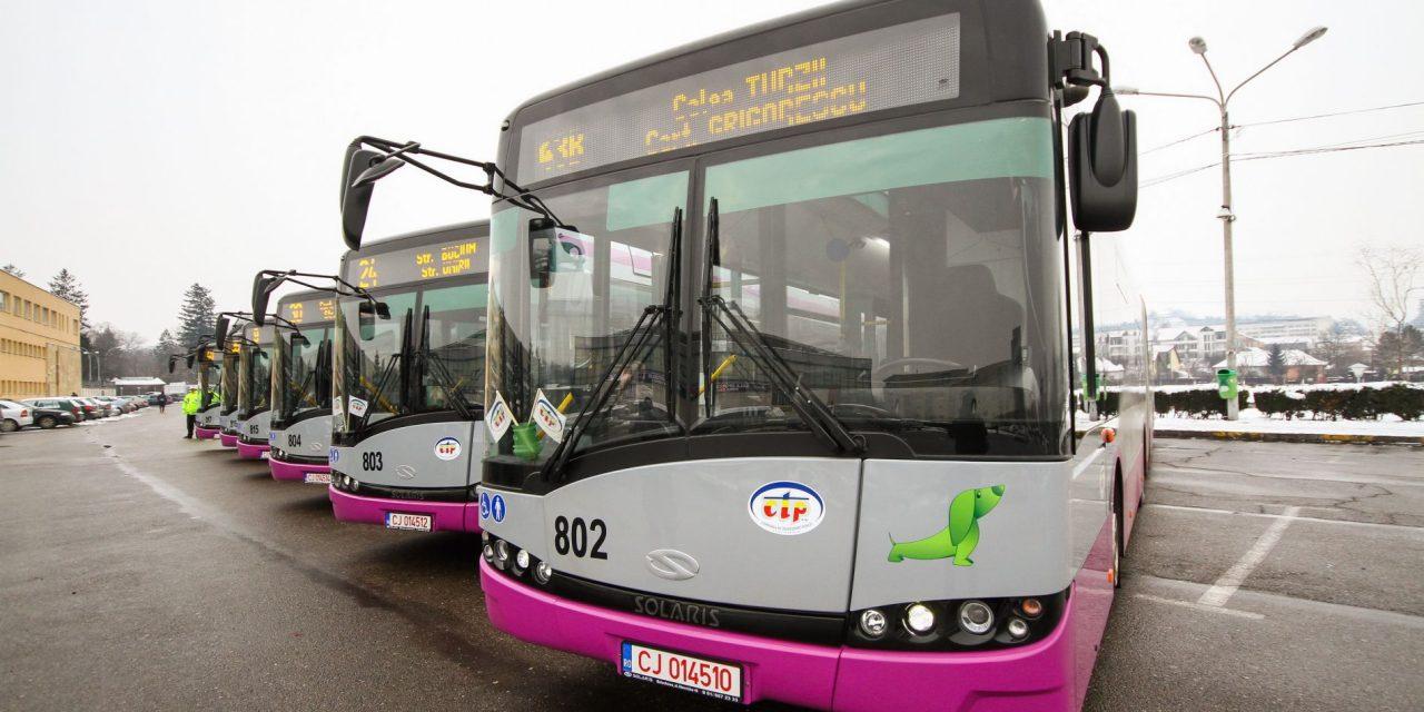 Vești bune pentru clujeni:Un nou autobuz circula pe traseul centru-Romul Ladea-Borhanci