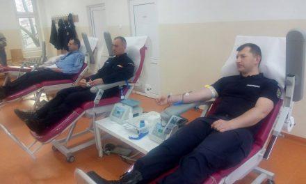 Jandarmii clujeni au donat sânge pentru cei aflați în suferință