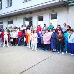 VIDEO A treia zi de proteste. Angajații de la Institutul Inimii Cluj: E bătaie de joc. S-au promis măriri și avem tăieri de salariu