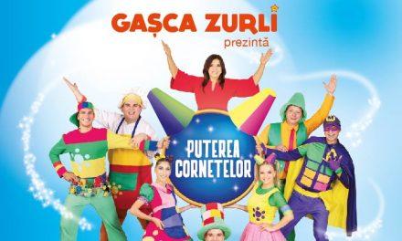 """Gașca Zurli a plecat în turneul de toamnă. """"Puterea Cornetelor"""" este cel mai nou spectacol marca Zurli"""