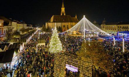 Cum a reușit un Târg de Crăciun din România să ajungă în competiția pentru cel mai frumos târg din Europa. Concurează cu Viena, Budapesta sau Zagreb