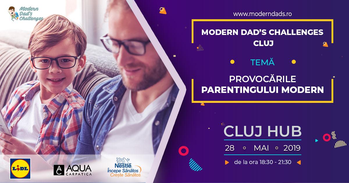 Cum pot avea tăticii rol activ în parenting-ul modern. Prima conferință din România dedicată taților