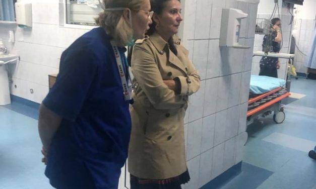 Ministrul Sănătății: lipsă de organizare și mizerie în curtea Spitalului de Urgență Cluj
