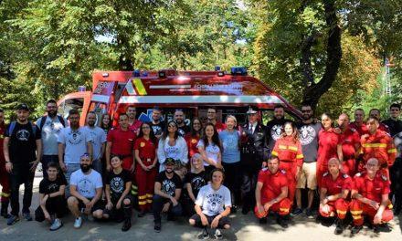 Beard Brothers a donat o ambulanță nouă pentru SMURD Cluj