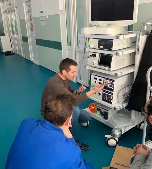 Spitalul din Dej are un nou aparat performant de chirurgie laparoscopică