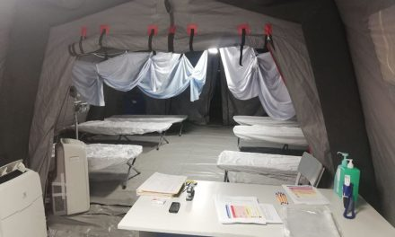 Începe activitatea în cortul de triaj de la Spitalul de Urgențe din Cluj