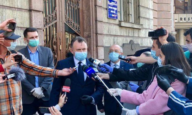 Ministrul Sănătății, Nelu Tătaru: Clujul este un exemplu de bună practică. Cât e meritul autorităților și cât al societății civile, în lupta cu COVID-19