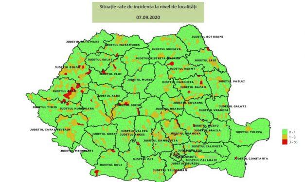 Cum începe şcoala în fiecare localitate? Ministerul Sănătăţii a publicat harta cu scenariile