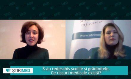 Dr. Ana Ștefănescu, despre riscurile medicale apărute odată cu reîntoarcerea copiilor în colectivitate