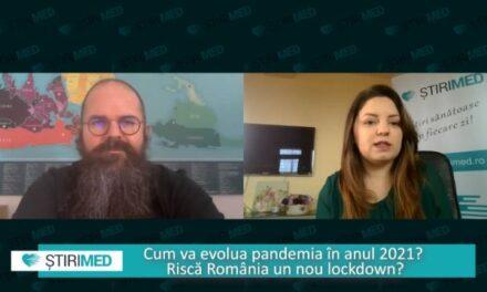 VIDEO Cum va evolua pandemia COVID-19 in primăvara 2021. Ce spune Răzvan Cherecheș, profesor de Sănătate Publică la UBB Cluj