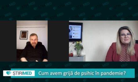 VIDEO Cum avem grijă de psihic în pandemie. Ce spune dr. Cristian Erdei, medic psihiatru și psihoterapeut