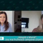 """VIDEO La o poveste cu Mirela Retegan, despre """"Adoptă o Mamă"""", cea mai frumoasă campanie a lunii Martie"""
