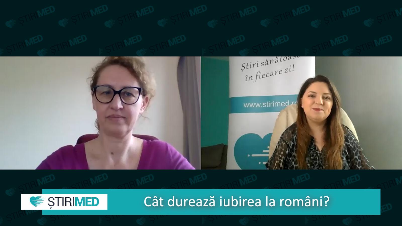 VIDEO Psiholog Domnica Petrovai: Cât ţine iubirea şi importanţa sexului într-un cuplu fericit