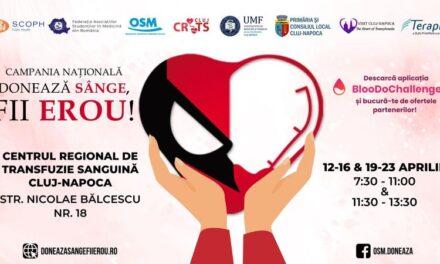 """Gestul simplu pe care fiecare om îl poate face în pandemie: donarea de sânge. Chiar acum e în derulare o campanie națională """"Donează sânge, fii erou"""""""