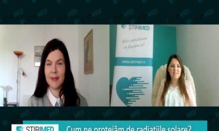 VIDEO Dr. Diana Oancea, dermatolog: De ce e importantă protecția solară și ce facem cu pielea afectată de dezinfectanţi