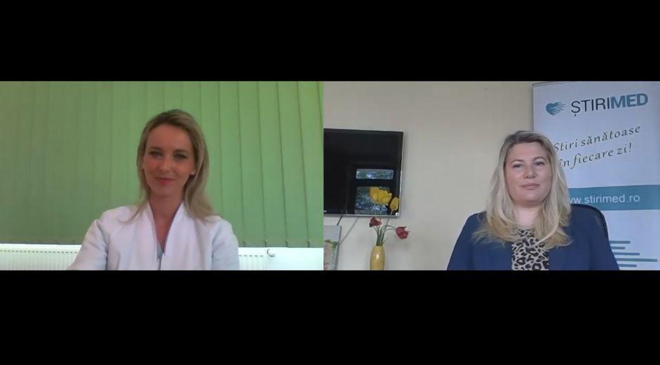 VIDEO Dr. Raluca Popescu, medic specialist Oftalmologie, despre afecțiuni oculare frecvente și operații laser la ochi