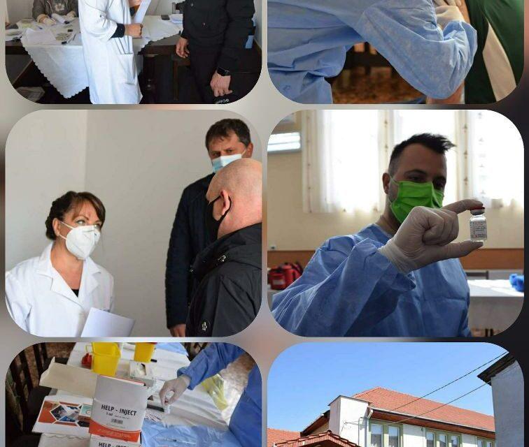 Vaccinare non-stop, timp de 7 zile, la Spitalul Militar Cluj. Nu e nevoie de programare