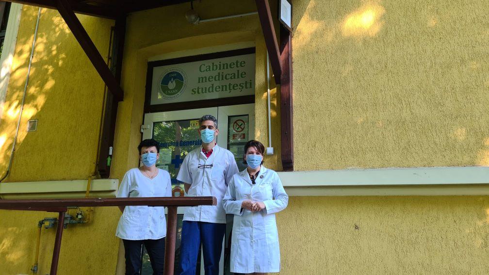 Sesiune de vaccinare pentru studenții USAMV Cluj-Napoca, în propriul campus
