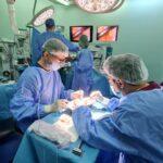 Un transplant renal cu ajutorul laparoscopiei 3D la ICUTR Cluj
