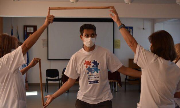 Burnout învins cu terapie prin artă, la Spitalul Militar Cluj