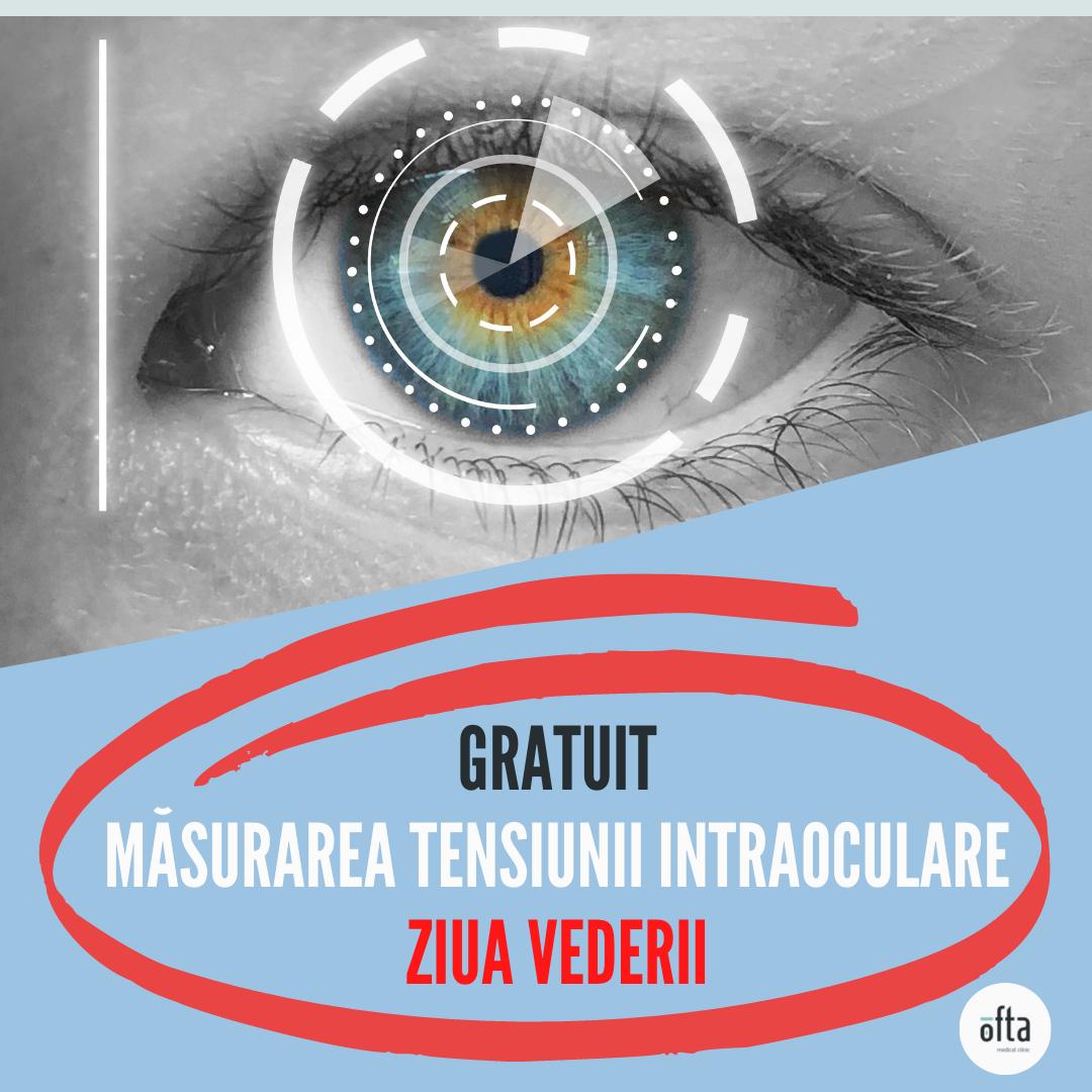 Consultaţii gratuite în Cluj şi Bistriţa pentru pacienţii care vor să îşi măsoare tensiunea intraoculară